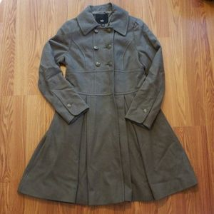 Arm Green Trench Coat